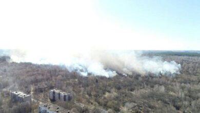Photo of Пожежа в зоні відчуження ЧАЕС: рівень радіації в осередку перевищує норму