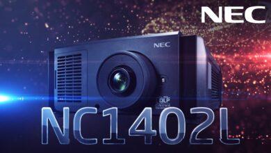 Photo of NEC випустила компактний і надзвичайно тихий цифровий кінопроєктор