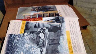 Photo of Вандали зіпсували виставку столичного музею Революції Гідності: фото