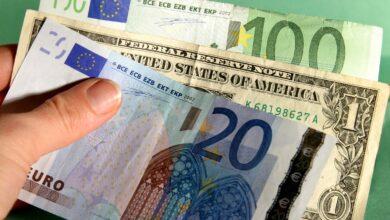 Photo of Курс валют на 7 квітня: євро майже опустився до позначки 29 гривень, долар – до 27