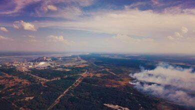 Photo of Пожежа у Чорнобильській зоні: як розповсюджуватиметься потенційно забруднена хмара – GIF