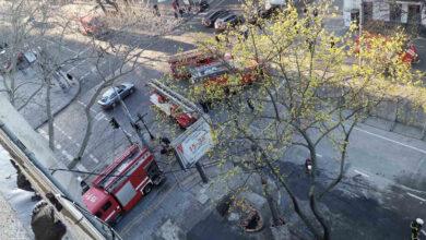 Photo of В економічному коледжі на Троїцькій у Одесі знову виникла пожежа: попередня забрала 16 життів