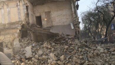 Photo of У центрі Одеси обвалився будинок: фото