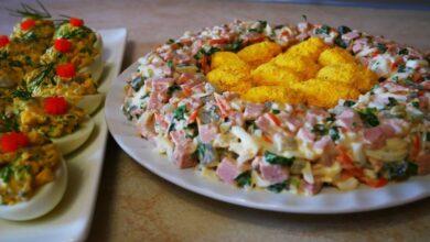 Photo of Рецепти недорогих салатів на Великдень