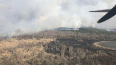 Photo of До гасіння пожежі в Чорнобильській зоні залучено 326 осіб та 84 одиниці техніки