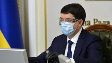 Photo of Разумков каже, що Рада збереться на позачергове засідання 9 або 10 квітня: Розглянуть зміни до бюджету