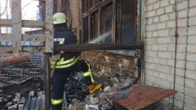 Photo of У Києві сталася масштабна пожежа: горить склад площею 500 кв. м