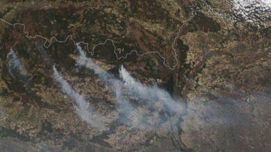 Photo of NASA опублікувало супутникові фото Чорнобильської пожежі