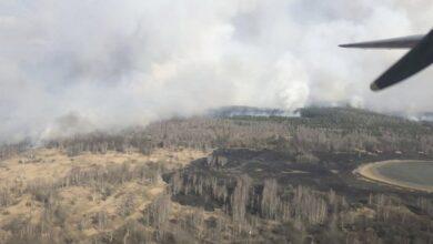 Photo of Пожежа у зоні ЧАЕС: евакуйовано селище самоселів, перекрито два КПП