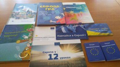 Photo of Ніжинська бібліотека отримала книги від Представництва Європейського Союзу