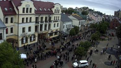 Photo of Масові акції у Білорусі: міліція затримує опозиціонерів