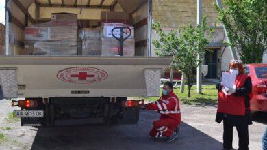 Photo of Ніжинська лікарня отримала допомогу від Червоного Хреста