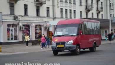 Photo of У Ніжині відновлюють пасажирські перевезення з 26 травня