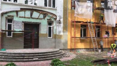 Photo of У школі №10 тривають будівельні роботи. Фото