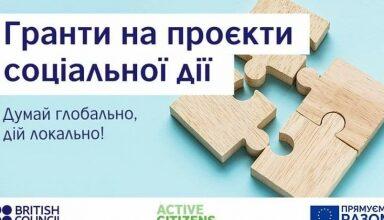 Photo of Програма «Активні громадяни» оголошує конкурс