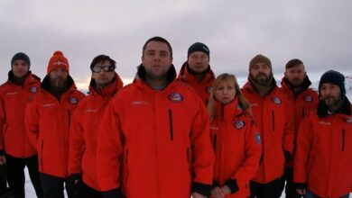 Photo of Українські полярники зворушливо привітали Україну з Днем вишиванки