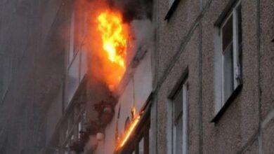 Photo of У Ніжині горіла квартира в п'ятиповерхівці