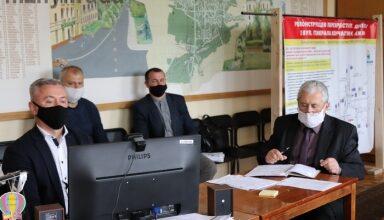 Photo of Міський голова Анатолій Лінник взяв участь у електронній нараді по проекту «Велике будівництво»