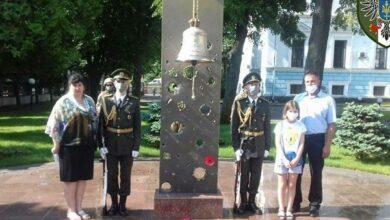 Photo of Вшанували пам'ять ніжинського воїна Сергія Рябухи