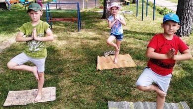 Photo of Наймолодші ніжинці долучилися до Міжнародного Дня йоги. Фото