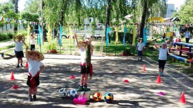 Photo of Активний відпочинок у затінку беріз: День спорту для дошкільнят