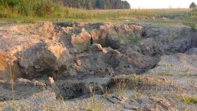 Photo of Біля сміттєзвалища у Ніжині видобувають пісок. Законно, чи ні?