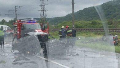Photo of ДТП з постраждалими під Ужгородом: одна машина перекинулася, інша – згоріла