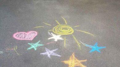 Photo of У Ніжині погрожували викликати поліцію за… дитячий малюнок на асфальті