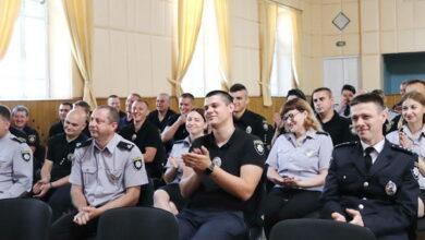 Photo of Як Ніжинську поліцію вітали з професійним святом. Фото