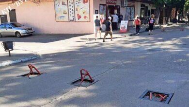 Photo of На Гоголівській зламали два обмежувачі руху