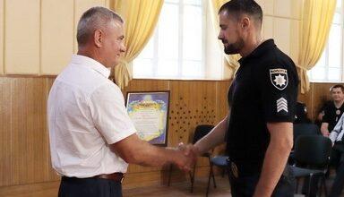 Photo of Міський голова привітав з професійним святом особовий склад Ніжинського відділу поліції