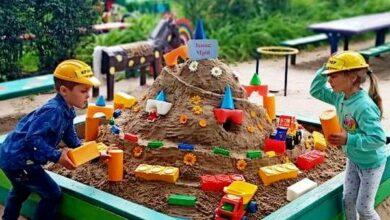 Photo of Містечко «Мрій» і «Кришталевий палац» – дошкільнята створювали шедерви із піску