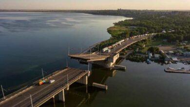 Photo of У Миколаєві самовільно піднялася розвідна частина Інгульського мосту