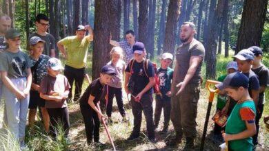 Photo of Ніжинські лісівники та пластуни провели пізнавальний захід. Фото