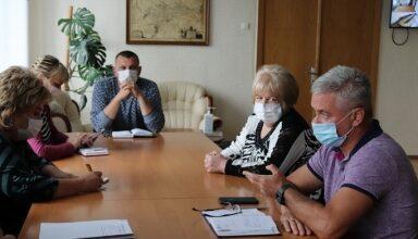 Photo of Анатолій Лінник провів щотижневу нараду з медиками