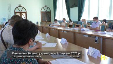 Photo of Виконання бюджету громади за І півріччя 2020 р.. Ніжин 23.07.2020