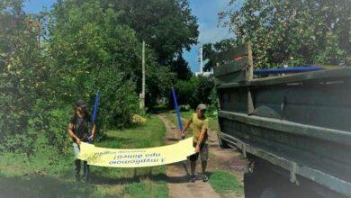 Photo of По місту демонтують таблички із прізвищем колишнього нардепа