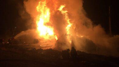 Photo of Перекинувся і загорівся: на Черкащині бензовоз злетів у кювет, водій загинув