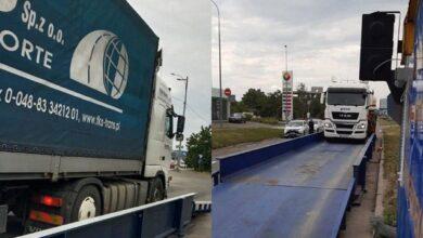 Photo of €6,5 тис.: у Києві водія фури оштрафували на рекордну суму за перевантаження