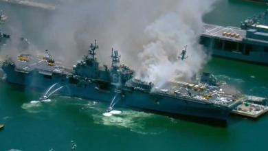 Photo of Вибух на військовому кораблі США: постраждала 21 людина