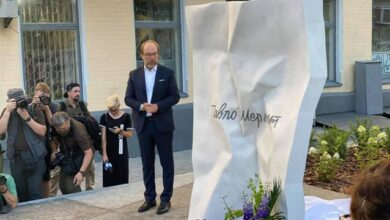Photo of Четверта річниця загибелі Шеремета: в Києві відкрили пам'ятник журналісту