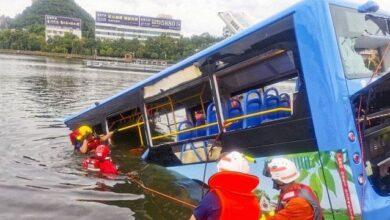 Photo of У Китаї автобус із школярами впав у водосховище, десятки загиблих
