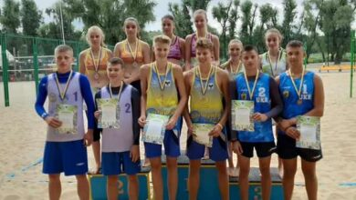 Photo of Юних ніжинців відзначили на чемпіонаті з пляжного волейболу
