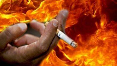 Photo of Паління спричинило пожежу: у Ніжині мало не згорів господар квартири
