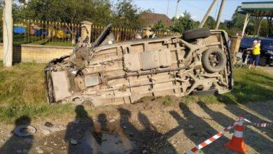 Photo of В Івано-Франківській області водій мікроавтобуса в'їхав у легковик, три жертви