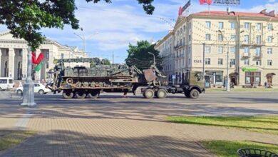Photo of У центр Мінська стягують автозаки і водомети, почалися затримання