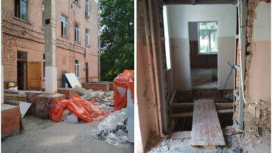 Photo of Міська лікарня: демонтаж розпочато, реконструкція – попереду. Фото