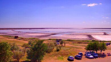 Photo of На одному з чудес України – Рожевому озері – встановили онлайн веб-камеру