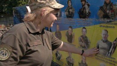 Photo of Вдова снайпера та багатодітна матір з Ніжина пішла служити в армію. Відео