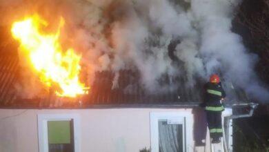 Photo of У Ніжині сталася пожежа: замкнуло електромережу